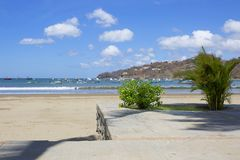 Nicaragua. San Juan Del Sur. San Juan Del sur is a resort on the ocean coast in Nicaragua with gorgeous beaches Stock Image