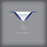 Nicaragua sign banner Royalty Free Stock Photo