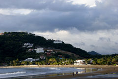 Nicaragua-Strand-Szene Stockfotografie