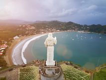 Nicaragua travel destination. San Juan Del Sur town Royalty Free Stock Photos