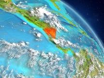 Nicaragua van baan stock illustratie