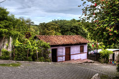 Nicaraguahaus Lizenzfreie Stockfotografie