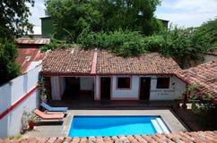 Nicaraguan courtyard Stock Images