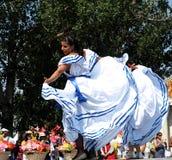 Nicaraguan Vrouw in Traditionele Kleding Royalty-vrije Stock Fotografie