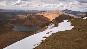 Nicas del ¡del altiplà de Lagunas - nacional Sajama de Parque Imagenes de archivo