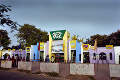Nicco park in Kolkata-India Stock Photography