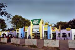 Nicco Park in Kolkata-Indien Stockfotografie