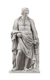 Niccola Pisano statue in Florence, Italy Stock Photo