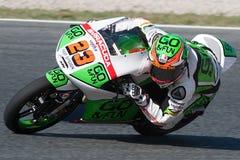 Niccollo Antonelli Gigantisk energigrand prix av Catalunya MotoGP Arkivfoton