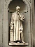 Niccolo Macchiavelli Concrete Statue Stock Images