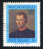 Niccolo Machiavelli Royalty Free Stock Photos