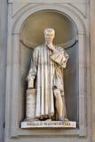 Niccolo Machiavelli statue by Lorenzo Bartolini, Florence Royalty Free Stock Photography