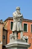 Niccolo Tommaseo monument Royalty Free Stock Image