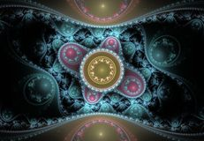 Nice abstract fractal pattern Stock Photo