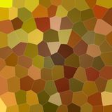 Nice abstract illustration of brown and red variative colors Big hexagon. Stunning background for your work. Nice abstract illustration of brown and red Vector Illustration