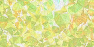 Nice abstract illustration of yellow, green and pink Impressionism Impasto paint. Good background for your prints. Nice abstract illustration of yellow, green royalty free stock image