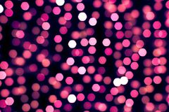 Nice abstract light bokeh background Royalty Free Stock Photography