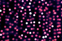 Nice abstract light bokeh background Royalty Free Stock Photo
