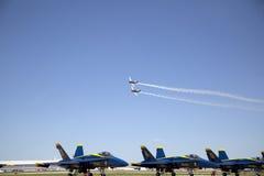 Nice  Air Show Stock Photography
