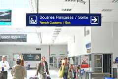 Nice Airport, France Stock Photography
