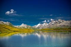 Nice Alpine landscape stock photo