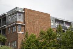 Nice apartment buildings royalty free stock photo