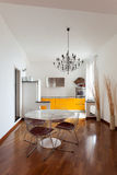Nice apartment, interior Stock Images