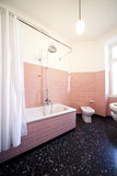 Nice apartment refitted, bathroom Royalty Free Stock Image