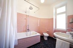 Nice apartment refitted, bathroom Stock Photos