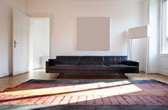 Nice apartment refitted, living-room Stock Image