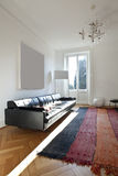 Nice apartment refitted, living-room Royalty Free Stock Images
