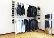 Nice apartment refitted, wardrobe Stock Photo