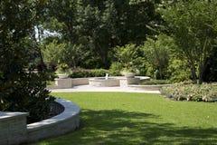 Nice Arboretum in Dallas. Beautiful Dallas Arboretum , TX USA Royalty Free Stock Photos