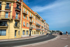 Nice - Architecture along the Promenade des Anglais Stock Images