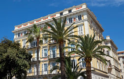 Nice - Architecture along Promenade des Anglais Stock Photo