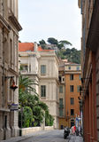 Nice Architecture, Cote d'Azur, France. The graceful & elegant buildings of Nice, the fifth largest city in France and rightly nicknamed Nice La Belle Royalty Free Stock Photo