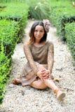 Nice Asian girl Royalty Free Stock Image