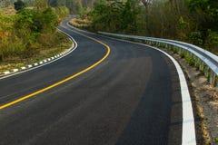 Nice asphalt road Stock Images