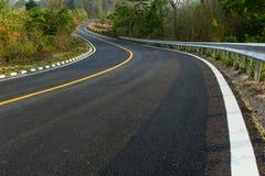Nice asphalt road. In Pai at Maehongson,Thailand Stock Images