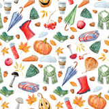 Nice autumn pattern Stock Photo