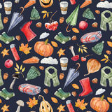 Nice autumn pattern Royalty Free Stock Photos