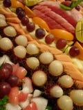 Nice bär frukt efterrätten Arkivbilder