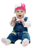 Nice baby girl Royalty Free Stock Images
