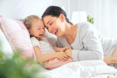 Happy loving family royalty free stock image