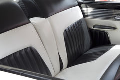 Nice back seats in car Stock Photography