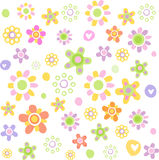 Nice background. Vector illustration, Can be used for figure on a fabric, children's clothes Royalty Free Stock Image