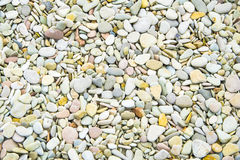 Nice background image of pebbles on a beach.  royalty free stock photo