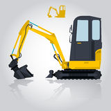 Nice bagger Royalty Free Stock Photography