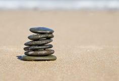 Nice balancing stones Royalty Free Stock Photo
