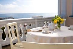 Nice balcony Royalty Free Stock Photos